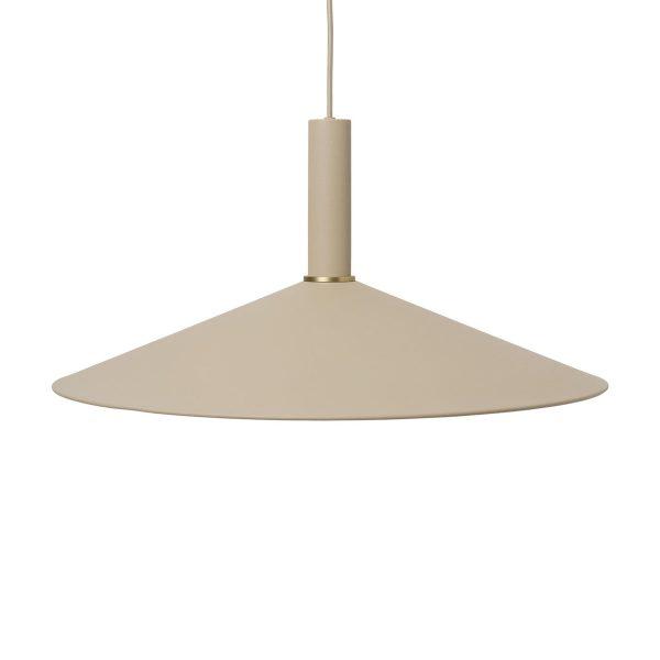 ferm-Living-Angle-Shade-Lampenschirm-beige-mit-Zuleitung-frei
